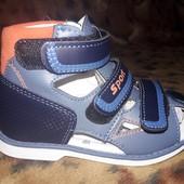 СП срочный сбор сандалии,босоножки для мальчика  28р. Том.М Tom.M
