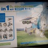 Быстрая отправка! Робот самолёт, Антигравитационная машинка, робот на солнечных батареях