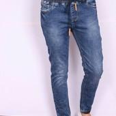 Стильные джинсы джоггеры  на резинках по супер цене 295 !!!