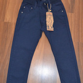 Коттоновые брюки для школы 122-164 р. Венгрия (Taurus).