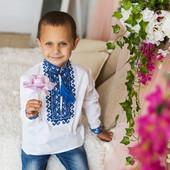 Красивые вышиванки для мальчиков, 1-16 лет (86-170 см)