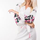 Шикарные вышитые платья и блузы от Аржен. Успейте купить!