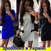 Платье с молнией по спинке и платье свободный силуэт  р-ры 42-54в 2 вида, в 6 цветах