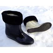 2пари+ знижка!!! Силіконові чобітки з утеплювачем 36-41р!  Відправка Укрпоштою або НП одразу до вас!