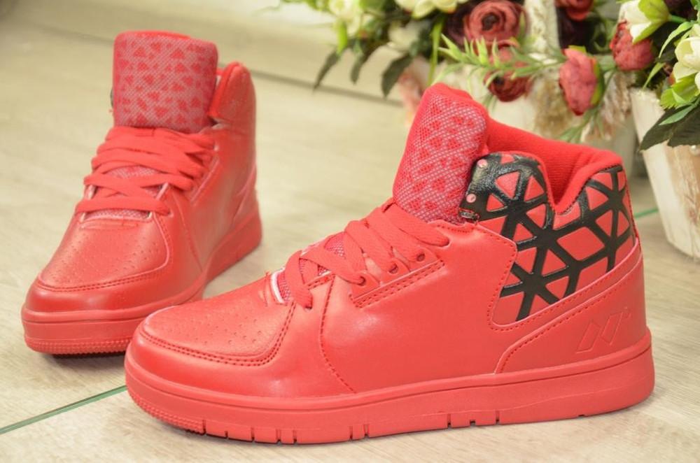 купить красные зимние кроссовки