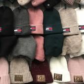 Модные теплые шапки! Комплекты! Большой выбор!