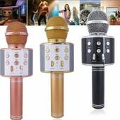 давайте успеем пока цена хорошая Беспроводные микрофоны-караоке bluetooth