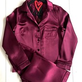 Атласный комплект.Штаны и рубашка. размер универсальный 42-44