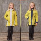 Есть остатки СП. Весенние куртки для девочек рост 122-134 см