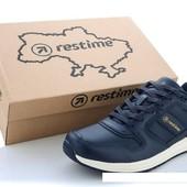 """19 моделей!!! Обувь,которая носится годами! Мужские кожаные кроссовки """"Restime"""",не пожалеете!41-45"""