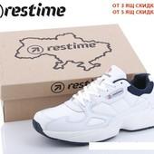 """Обувь,которая носится годами! Мужские кожаные кроссовки """"Restime"""",не пожалеете!41-45"""