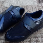 Невесомые кроссовочки, 36-41, темно-синие, выкуп от одной пары