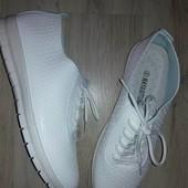 Безумно удобные белые кеды кроссовки мокасины