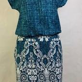 Платье 100% хлопок, Акция -50грн на наличие. Новые расцветки! Размер 40-54