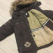 Очень тёплая зимняя курточка Bilemi темпер режим до-30