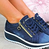 Стильные кроссовки под джинс новинка