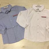 Коттоновые рубашки для мальчиков Buddy Boy Венгрия 1-5 лет