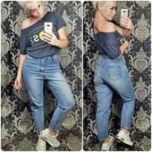Крутые джинсы с высокой посадкой! Размеры: m, l, xl. Выкуп 11.08