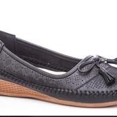 Мягкие и удобные туфли,37-42р.,есть остатки.