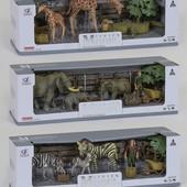 Наборы диких и домашних животных.
