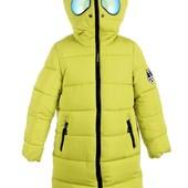 Зимнее пальто. 4 цвета. ТМ *Кузя* 128-152