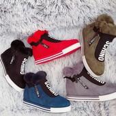 Зимние спортивные ботинки, разные цвета и модели. Приглашаю на брони)
