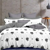 Полуторный комплект постельного белья. Бязь голд, качество отличное! есть реальный обзор