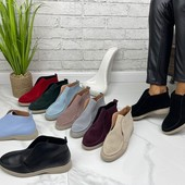 СП Кожа/замш весна натуралки,ботинки, сапоги, шикарные модели, от производителя!