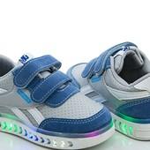 В наличии ф. 1-4 Детские кроссовки для мальчиков (размеры 21-26)