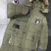 новинка этого года!! и акционная цена!! куртка зима 3-11 лет.. не упустите