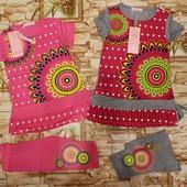 Яркий, модный комплект для девочек 104-134 р с Загран. сайта.