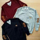 Пуловер и джемпер  вязаный для мальчиков 5-13 лет. Турция., 4 цвета!налич+сбор!