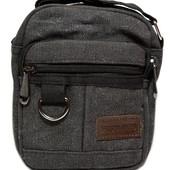 Тканевая мужкая сумка через плечо отличного качества (М-8621)