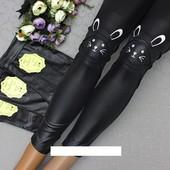 Хит 2019 Новинка супер модні і стильні лосини на весну під кожу 2 вида Кошечка і Зайчик