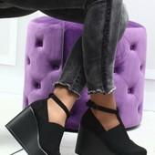 Туфли на резинке и без .Качество отличное ,эко замша ,эко кожа