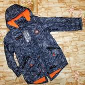 У меня!!! Демисезонные куртки-парки  Grace на мальчиков 116-146 р.