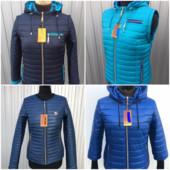 Демисезонные короткие женские куртки, 3 модели