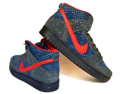 d2ba53cf Кроссовки полуботинки замшевые реплика Nike (НК-08) совместная ...