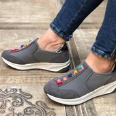 Женские кроссовки, 36-41р., стильные, удобные, на среднею и широкую ногу, заказаны