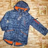 У меня!!!!!!!!! Демисезонные куртки-парки Grace на мальчиков 134-164 р.
