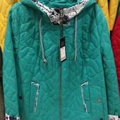 Демисезонная курточка р. 50-60