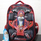 Школьный рюкзак 3D  для мальчика