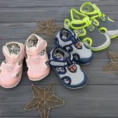 В наличии  26, 28, 29, 30, 31р!!! Текстильные тапочки-сандали. Для улицы и для сада