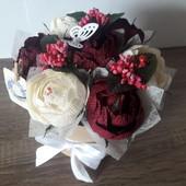 Букет из конфет рафаелло! Самый лучший и оригинальный подарок, сладкий подарок на 8 марта