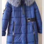 Детское зимнее пальто в размере 140-152. Новый сбор.
