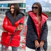 Двухсторонняя куртка зефирка. Харьковского производства!!! Именно как на фото