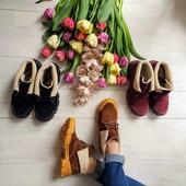 Демисезонные ботинки, натуральные! Акция на складе на наличие размеров!