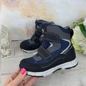 Термо ботинки B&G termo New 2020 р.28-35