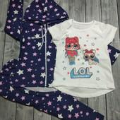 Косюмы-троечки ЛОЛ для девочек размеры 92-134