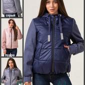Деми куртки 42-62, от украинского производителя \ отправка Новой почтой